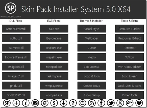 Create Skin Pack With Skin Pack Installer System