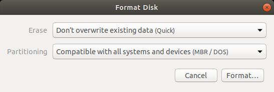 Crear USB de inicio de Windows 10 en Linux pic (3)