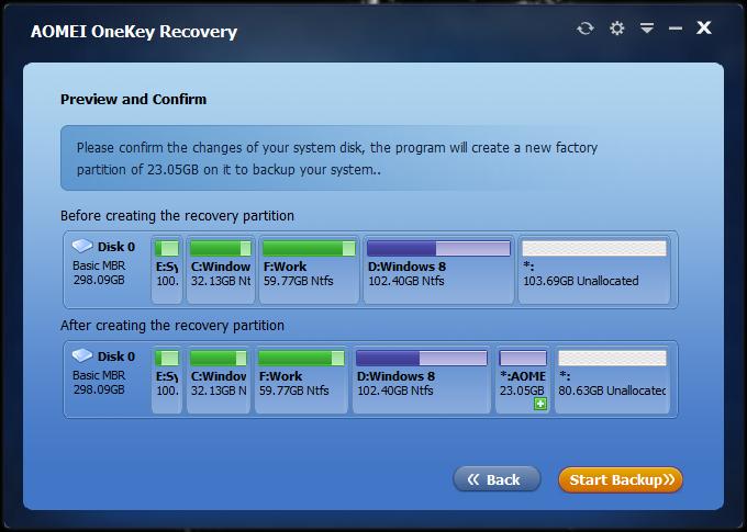 Crear partición de recuperación dedicada Windows de 10 (2)