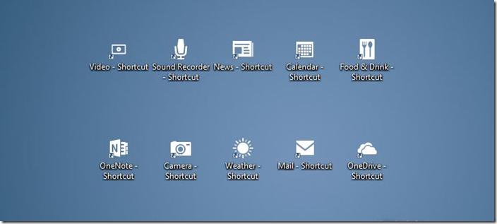 Crear accesos directos de escritorio de aplicaciones en Windows 10 picture2