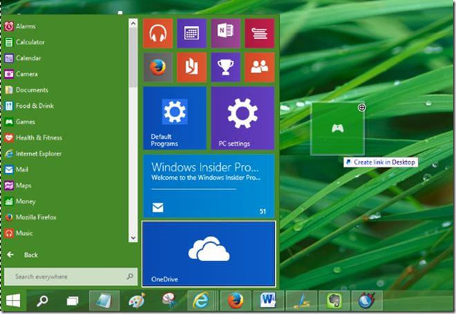 Crear accesos directos de escritorio de aplicaciones en Windows 10 picture3