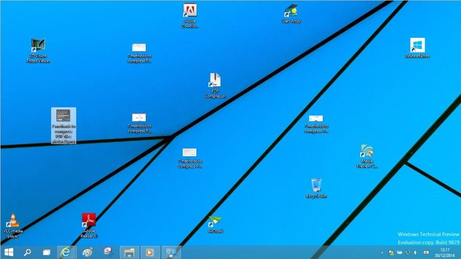 Crear atajo de teclado para mostrar u ocultar iconos del escritorio
