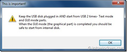 Crear unidad flash USB de arranque múltiple con Windows 7 y XP Paso 8C
