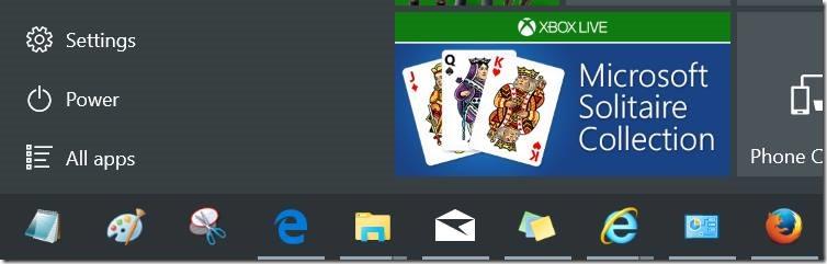 Personalizar pic11 de la barra de tareas de Windows 10