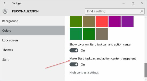 Personalizar pic1 de la barra de tareas de Windows 10
