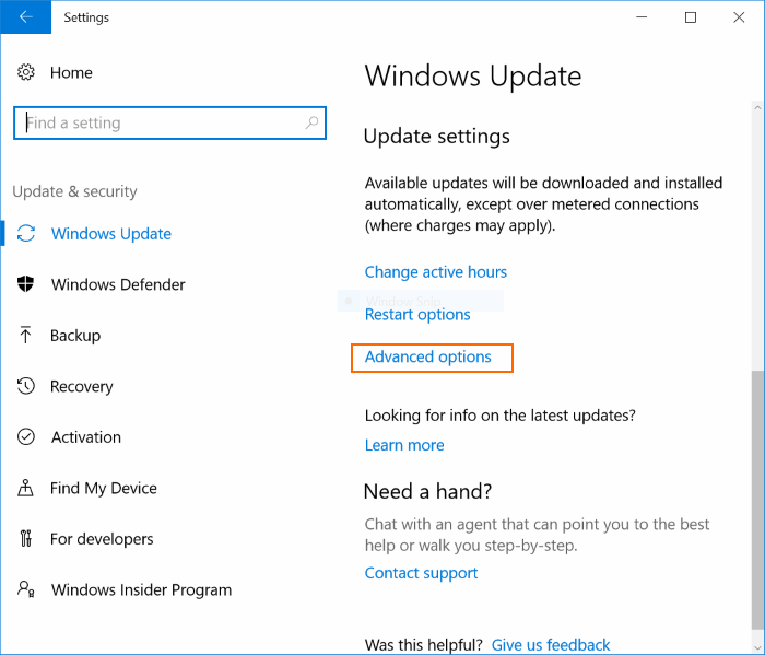 Retrasar o posponer Windows Update Windows 10 (2)