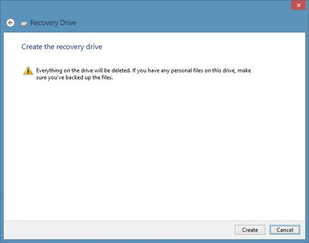 Delete Recovery Partition in Windows 8 Step3