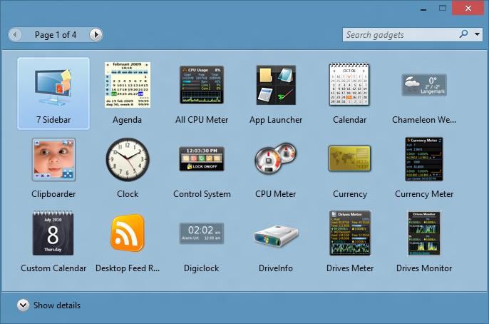 Gadgets de escritorio para Windows 10 picture4