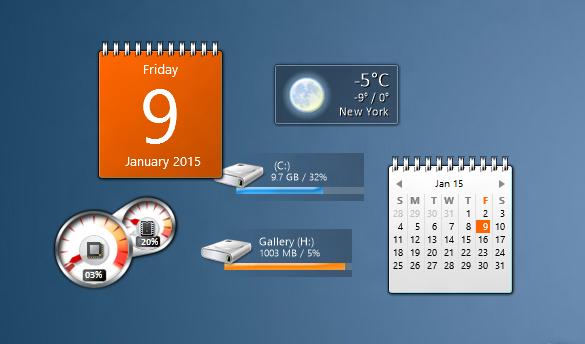 Gadgets de escritorio para Windows 10 picture5