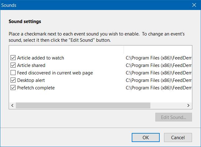 Desactivar sonido de notificación en Windows 10 step8