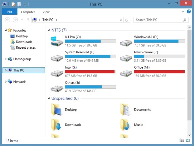 Disable SkyDrive folder picture3