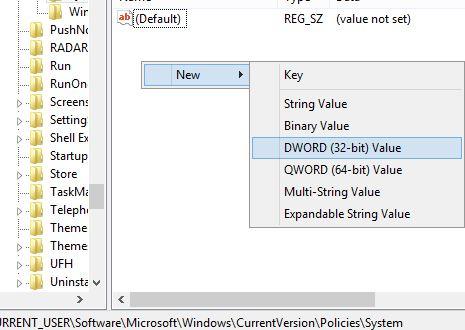 Desactivar el acceso directo del teclado de Windows L en Windows picture2