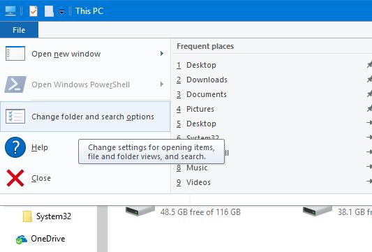 Desactivar anuncios en el Explorador de archivos en Windows 10 pic2