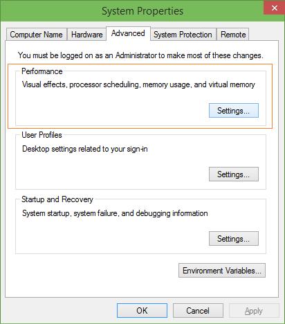 Desactivar animaciones al maximizar la minimización del paso 2