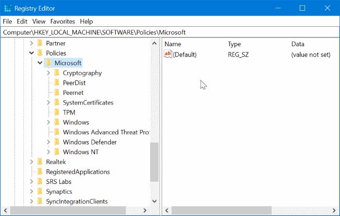 Desactivar la navegación privada en el navegador Edge en Windows 10 pic4