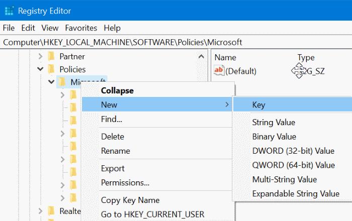 Desactivar la navegación privada en el navegador Edge en Windows 10 pic5