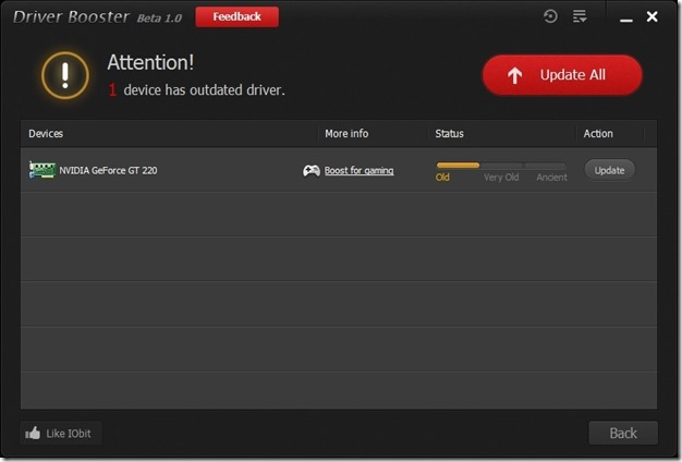 Driver Booster for Windows