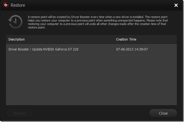 Driver Booster to update windows drivers picture22