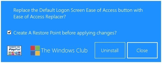 Ease of Access Replacer