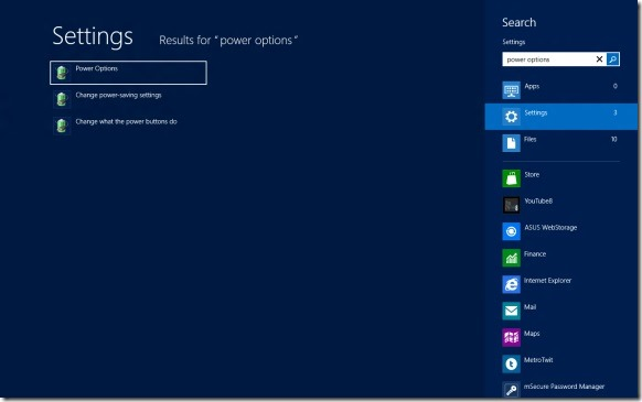 Enable Fast Startup In Windows 8 Step