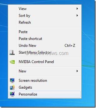 Enable Glass Taskbar In Windows 8 Developer Preview Step1