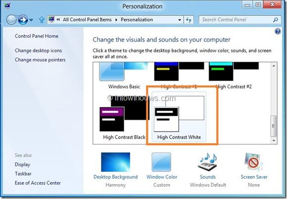 Enable Glass Taskbar In Windows 8 Developer Preview Step2