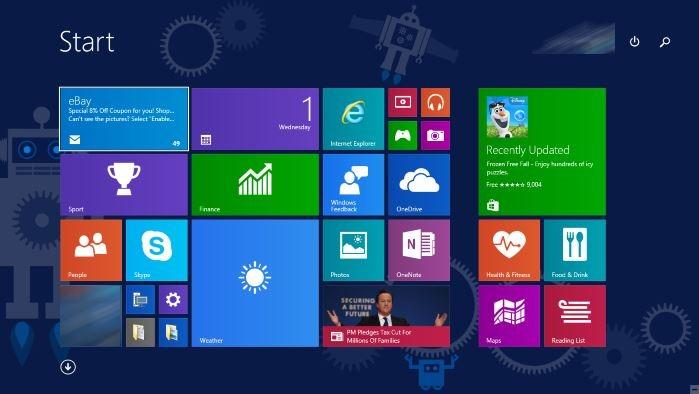 Activar pantalla de inicio en la guía de Windows 10