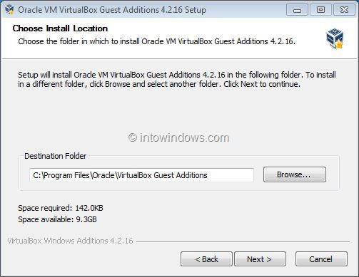 Activar Windows 7 Aero In VirtualBox Step2