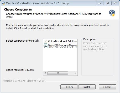 Habilitar Aero In VirtualBox Step3