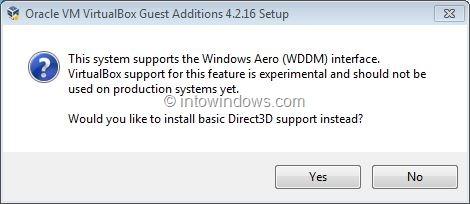 Activar Aero de Windows 7 en VirtualBox Step4