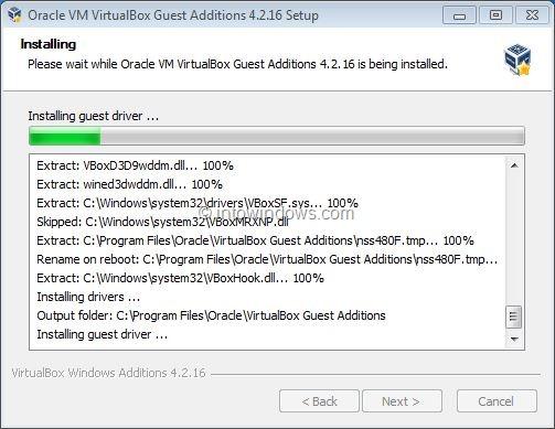 Activar Aero de Windows 7 en VirtualBox Step6