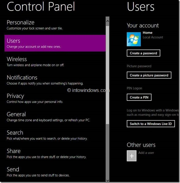 Enable Windows Phone 7 Style User Interface In Windows 8