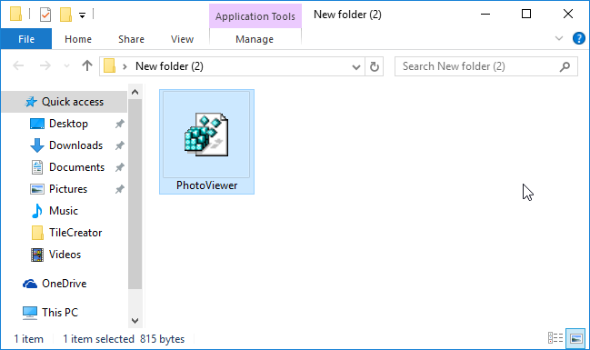 Activar el visor de fotos clásico en Windows 10 step3
