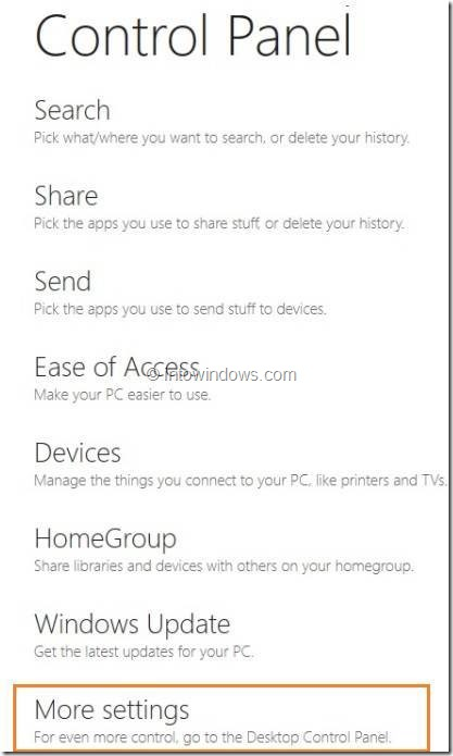 Enable or Disable Right Click In Windows 8 Tablet Step3