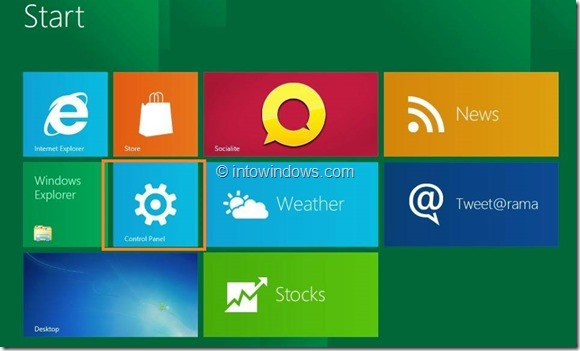 Enable or Disable Touch Screen In Windows 8