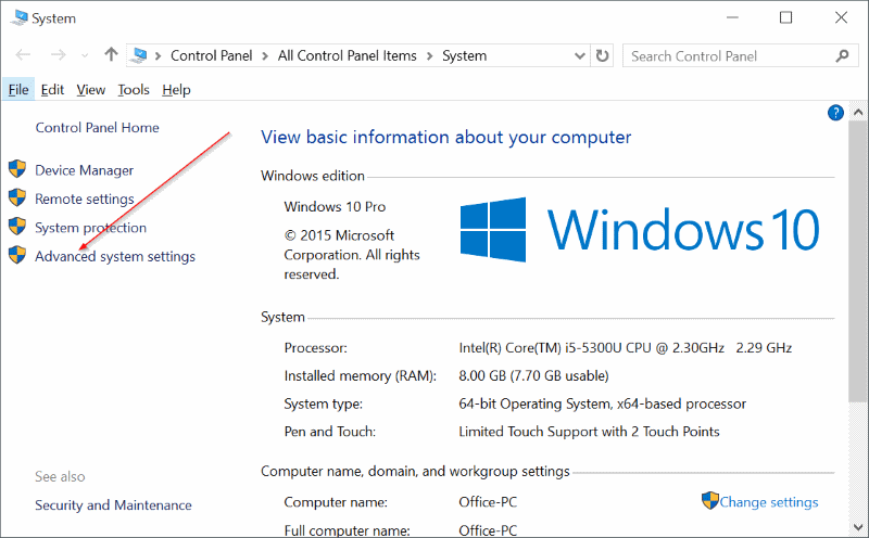 Activar o desactivar la actualización automática del controlador del dispositivo En Windows 10 step2