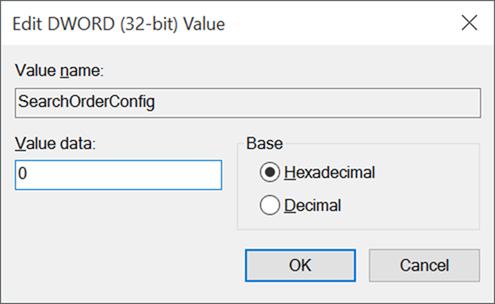 Activar o desactivar la actualización automática del controlador del dispositivo En Windows 10 step6