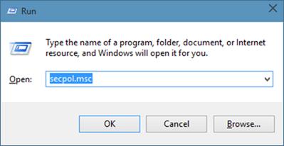 Activar la cuenta de administrador oculta incorporada en el paso 81 de Windows 10