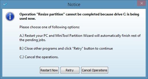 Extender la partición del sistema en Windows 8.1 Método 2 Paso7