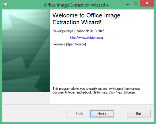 Extract Images from Office documents word and powerpoint
