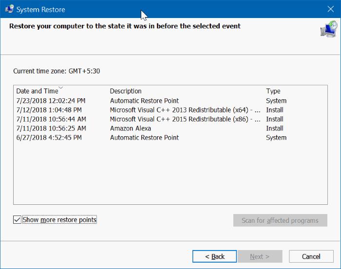 Explorador de archivos que no funciona en Windows 10 pic3