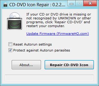 Unidad de DVD fija no detectada en Windows 8