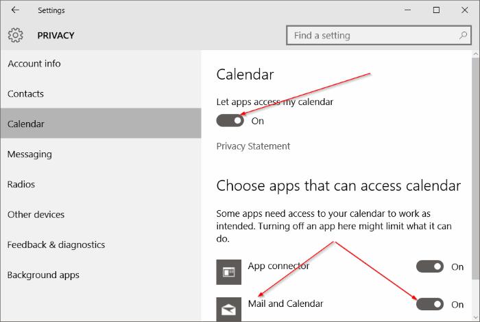 Solucionar problemas de sincronización de aplicaciones de correo en Windows 10 pic6