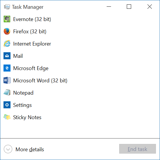 Reparar en la barra de tareas de Windows 10 la ocultación automática que no funciona pic2