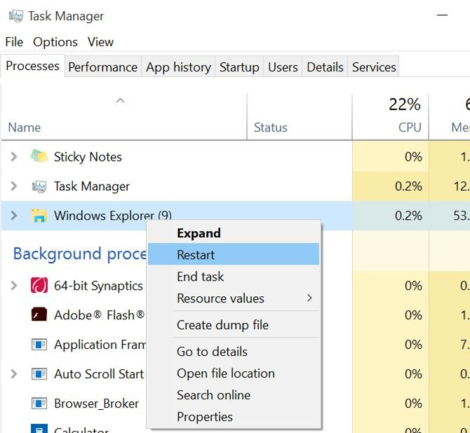 Reparar en la barra de tareas de Windows 10 la ocultación automática que no funciona pic3