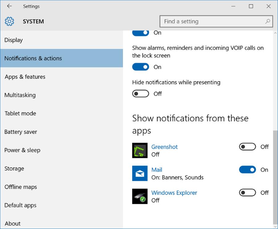 Reparar en la barra de tareas de Windows 10 la ocultación automática que no funciona pic6