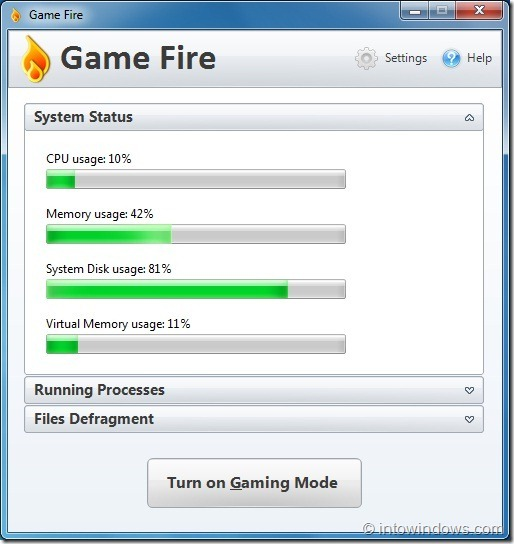 Game Fire For Windows 7