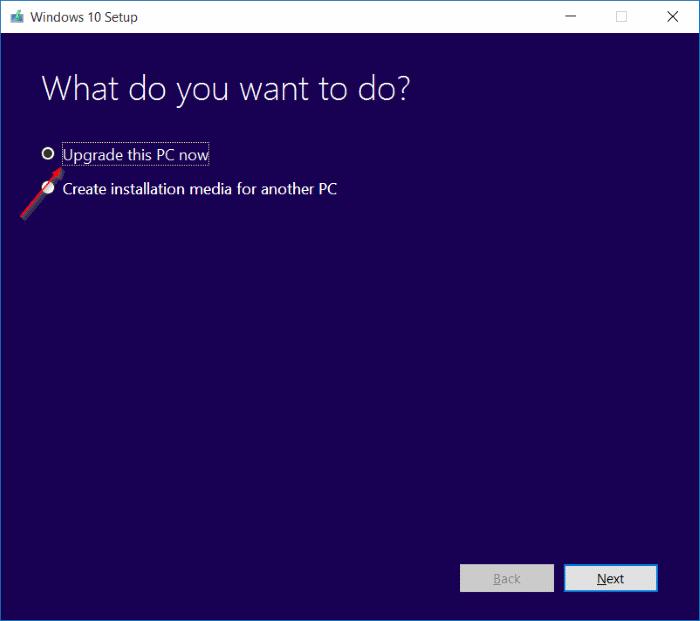 Obtener la actualización de Windows 10 November ahora mismo