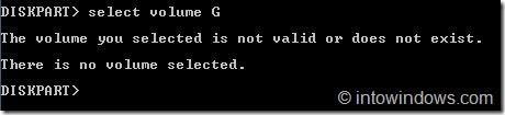 Ocultar unidades mediante el símbolo del sistema en Windows 7 step5