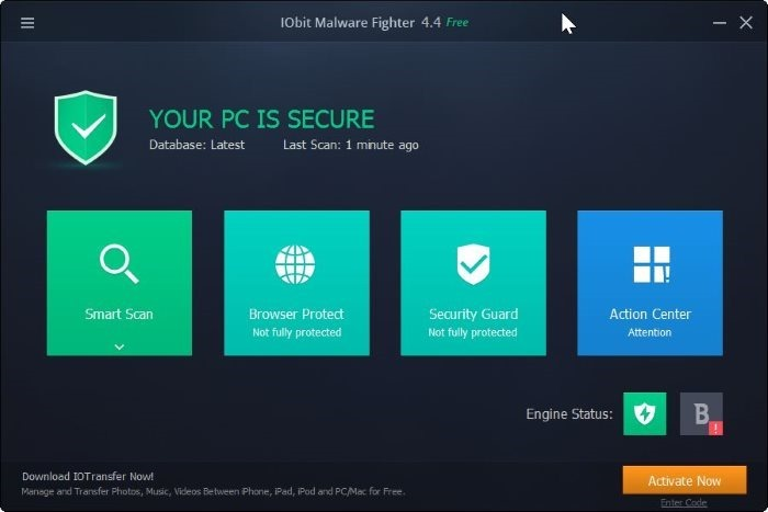 IObit Malware Fighter pic1